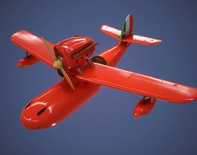 Savoia s 21 Seaplane 3D asset