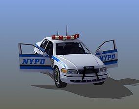 Police Patrol Car 3D model