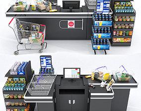 Checkout Counter 3D model