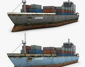 Cargo Ship 2 3D model