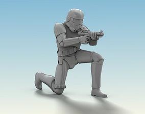 statue Stormtrooper Figure 3D