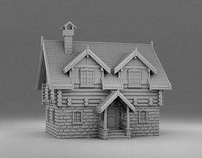 Big russian house 3D print model