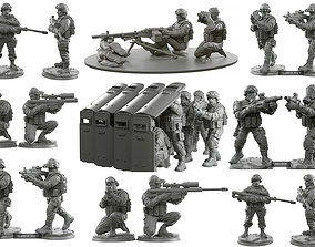 Army 32mm scale 3D