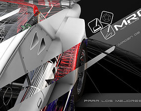 ford falcon TC racing 3D model