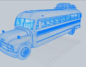 3D model TV Sitcom School Bus