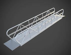 Gangway or Ramp for Docks and Marinas 3D model rob-23