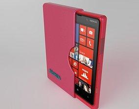 Pouch Design for Nokia Lumia 3D model