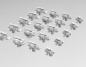 3D print model Deathvigil Weapons