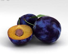 3D model Plum Fruit plum