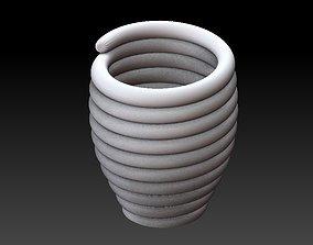 Extended pot 43 3D print model