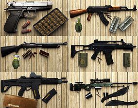 3D asset Gun Puck