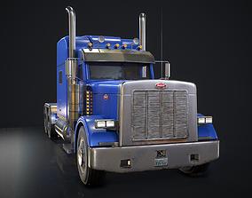 3D asset American Peterbilt Truck