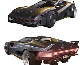 cyberpunk Quadra V-Tech from Cyberpunk 2077 3D model