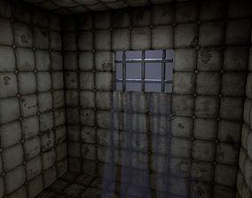 hospital Insane Asylum Padded Cell 3D