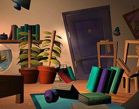 3D model Messy Room AAA