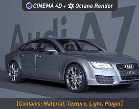 3D Audi A7 ferrari