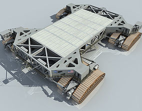 NASA Shuttle Crawler Transporter 3D model