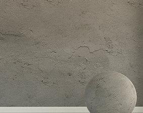 3D Concrete wall Old concrete 133