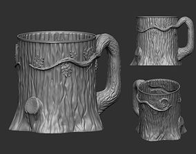 Wooden Mug 3D print model