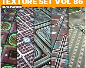 3D asset Scifi Vol 86 - Game PBR Textures