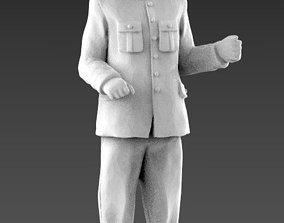 man controller conductor 3d model