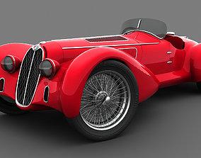 Alfa Romeo 8C-2900 Mille Miglia 1938 3D model