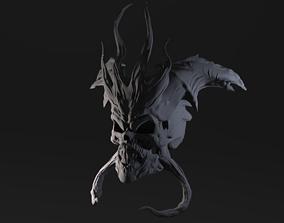 Demon Skull 3D printable model