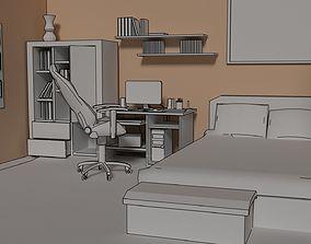bedroom 3D model 3dmodel