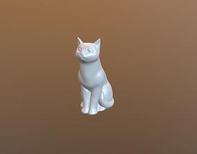 3D printable model Sitting cat