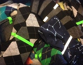 3D print model Customizable Sock Bones