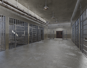 3D asset Prison Cells - Penitentiary
