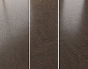 Parquet Oak Lawson Brushed set 1 3D