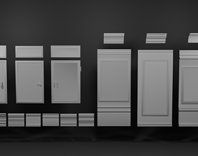 Trims and Things 3D asset