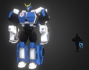 Transformer Strongarm 3D model