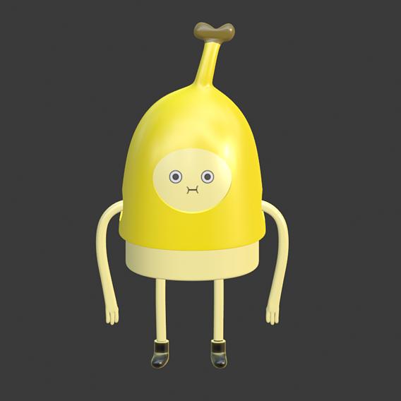 adventure time banana man