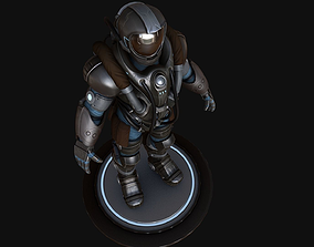 sci fi 3d model VR / AR ready