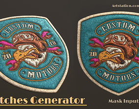 Patches Generator - stiches 3D model