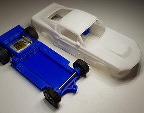 3D printable model Ford Mustang GT500 Eleanor Slot Car