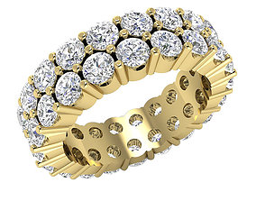 Fancy Woman Diamond Ring 3D print model diamond-ring