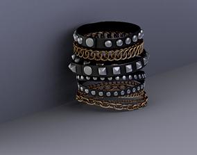 3D model game-ready Bracelet