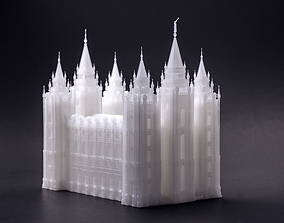 Salt Lake City Temple 3D printable model