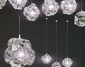 Oggetti Nebula Clear Glass 3D model