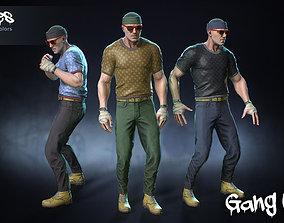 Male Gang 04 3D asset