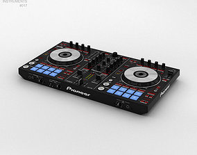 Pioneer DDJ-SR DJ Controller 3D