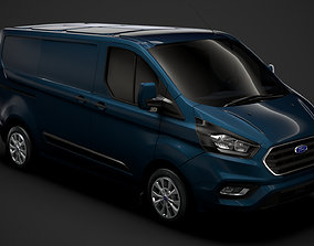 3D Ford Transit Custom L1H1 2020