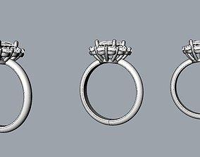 3D print model Princess Diana and Kate Middleton Ring 1