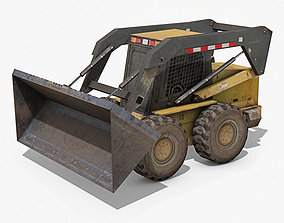Skid-Steer Loader 3D asset realtime
