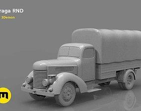 Praga RND 1950 truck 3D printable model