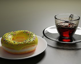 cup Donut 3D model