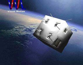 3D asset Omid Satellite